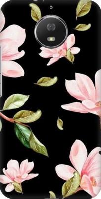 COBIERTAS Back Cover for VIVO Y51L(Multicolor Black Floral Pink Roses design Designer Print Printed Design, Hard Case)
