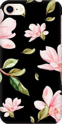 COBIERTAS Back Cover for Apple iPhone 5C(Multicolor Black Floral Pink Roses design Designer Print Printed Design, Hard Case)