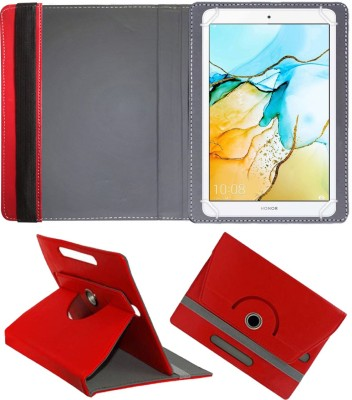 Fastway Book Cover for Honor Pad 5 8inch 4G Tablet(Red, Cases with Holder)