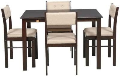 Awe Inspiring Godrej Interio Glass 4 Seater Dining Table Home Interior And Landscaping Ologienasavecom