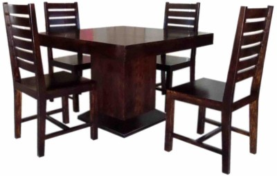 True Furniture Sheesham Wood 6 Seater Dining Table Set with Chairs for Living Room(Natural Finish) Solid Wood 6 Seater Dining Set(Finish Color - Natural Finish)