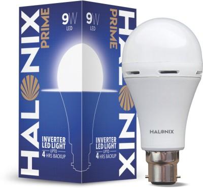 HALONIX LED PRIME INVERTER LIGHT 9W B22 CW PK1 M Bulb Emergency Light(White)