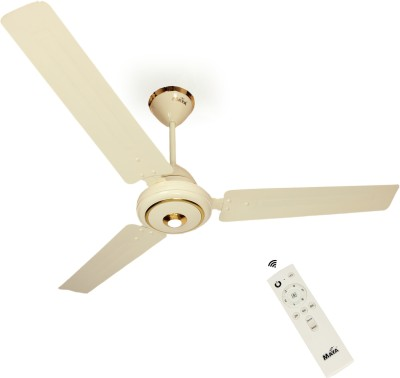 Maya Super Eco Tech 1200 mm BLDC Motor with Remote 3 Blade Ceiling Fan(Base white, Pack of 2)