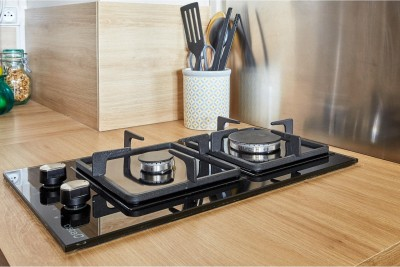 CATA LCI 302 BK Glass Automatic Gas Stove(2 Burners)
