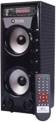 O.SOUND MINI BAHUBALI Tower Speaker(Black, 2.0 Channel)