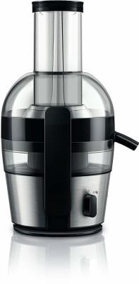 PHILIPS Viva Collection HR1863/20 800 W Juicer (Black, 1 Jar) 800 Juicer (1 Jar, Black)