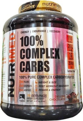 Nutrimed 100% Complex Carbs (2.27Kg, Chocolate)