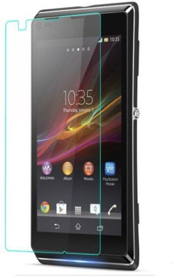 CHAMBU Edge To Edge Tempered Glass for Sony Xperia M Dual(Pack of 1)