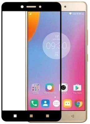 Eagle Edge To Edge Tempered Glass for Lenovo K6 Note :Tailor Made:Original:Genuine:and:Quality Assured(Pack of 1)