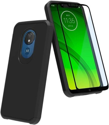 Eagle Edge To Edge Tempered Glass for Moto G7 Power:Tailor Made:Original:Genuine:and:Quality Assured(Pack of 1)