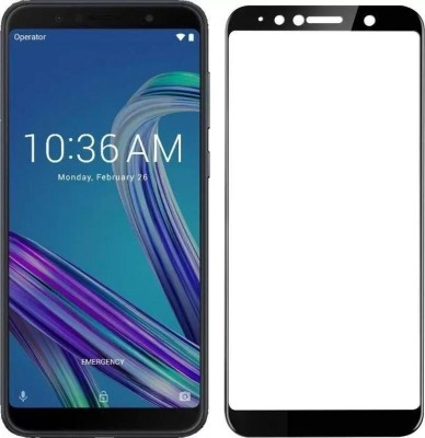 Eagle Edge To Edge Tempered Glass for Asus ZenFone Max M1:Tailor Made:Original:Genuine:and:Quality Assured(Pack of 1)