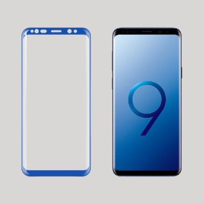 Eagle Edge To Edge Tempered Glass for Samsung S9:Tailor Made:Original:Genuine:and:Quality Assured(Pack of 1)