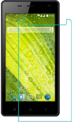 CHAMBU Tempered Glass Guard for Karbonn A27 Retina(Pack of 1)