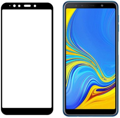 NIPSU Edge To Edge Tempered Glass for Xiaomi Redmi screenguard Protector,Mobile Phone Screen Guard,Tempered Glass, Range Product 5D, Black, Xiaomi Red MI Pro 6(Pack of 1)