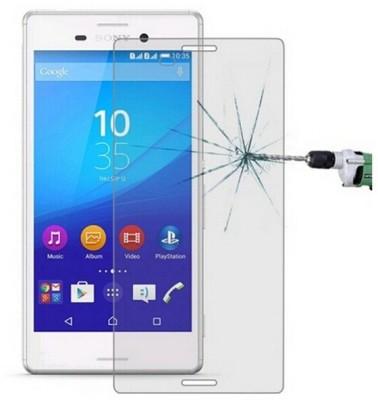 CHAMBU Tempered Glass Guard for Sony Xperia M4 Aqua Dual(Pack of 1)