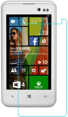 CHAMBU Tempered Glass Guard for NOKIA 220 DUAL SIM(Pack of 1)