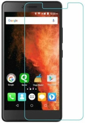 CHAMBU Tempered Glass Guard for Micromax X501(Pack of 2)