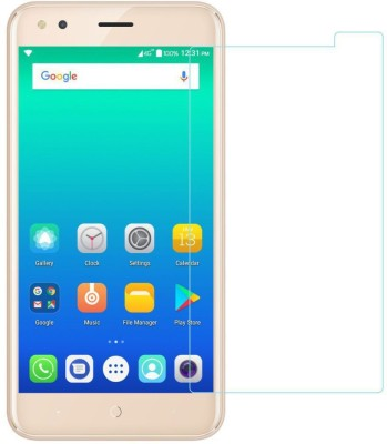 CHAMBU Edge To Edge Tempered Glass for Micromax Bolt A62(Pack of 1)