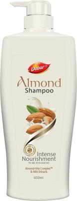 Dabur Almond Shampoo Men & Women  (650 ml)