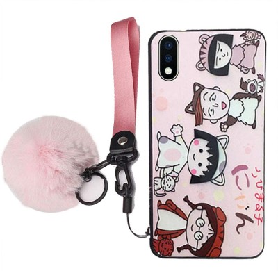 KC Back Cover for Vivo V11 Pro(Pink, Shock Proof, Silicon)