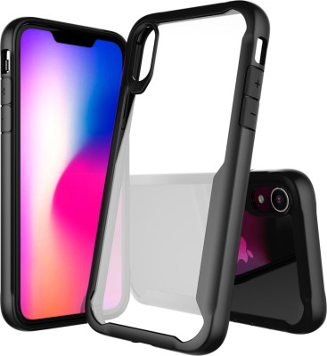 Aspir Back Cover for Apple iPhone XS Max(Back Transparent Bumper ShockProof, Grip Case)