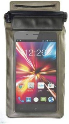 GBKS Pouch for WaterProof Mobile Pouch For MICROMAX CANVAS SPARK Q380(Multicolor)