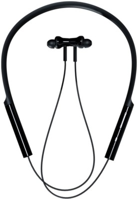 Mi Neckband Bluetooth Headset with Mic(Black, In the Ear)
