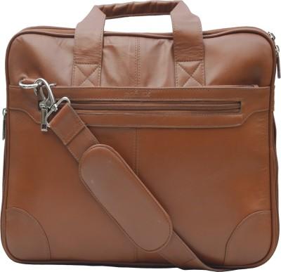 ROCLEX 15.6 inch Expandable Laptop Messenger Bag(Tan)