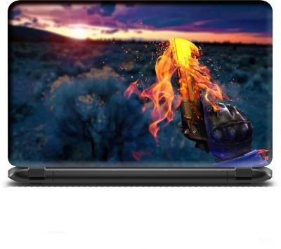 WALL STICKS GUN PVC Laptop Decal 15.6