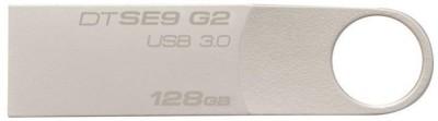Kingston SE9 G2 128 GB Pen Drive(Silver) at flipkart