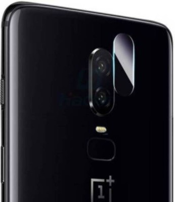 GBKS Back Camera Lens Glass Protector for OnePlus 6(Pack of: 1)