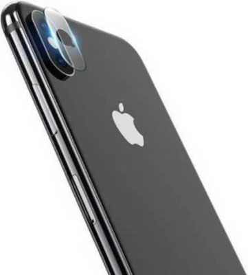 GBKS Back Camera Lens Glass Protector for Apple iPhone X(Pack of: 1)