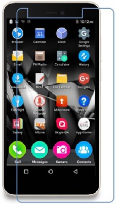 CHAMBU Edge To Edge Tempered Glass for MICROMAX A84(Pack of 1)