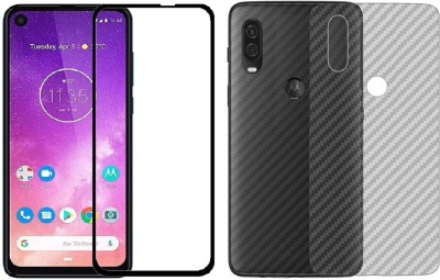 Karpine Front and Back Screen Guard for Motorola One Vision(Pack of 1)