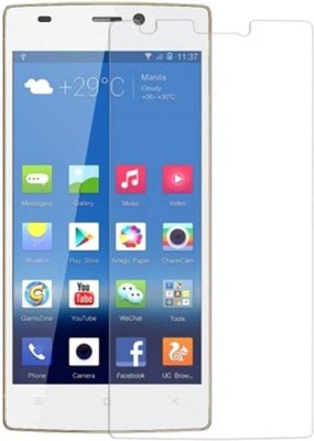 CHAMBU Tempered Glass Guard for LAVA iris 400 Colours(Pack of 1)
