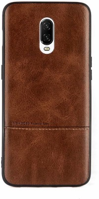 Mystry Box Back Cover for OnePlus 6T(Brown, Grip Case)
