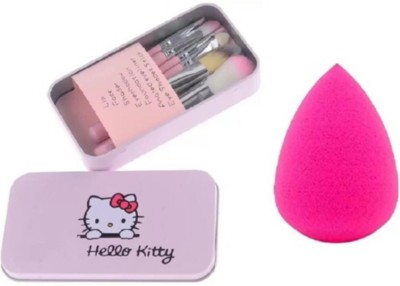 Hello Kitty Makeup Brush combo(Set of 2)