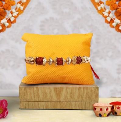 Tied Ribbons Designer Rakhi Set(1 Rakhi, Roli Chawal)
