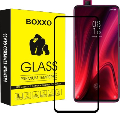Boxxo Edge To Edge Tempered Glass for Mi K20, Mi K20 Pro(Pack of 1)