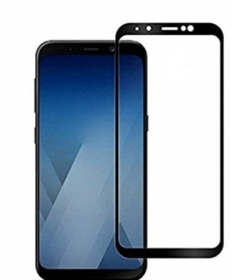 WESTERN COLLECTIONS Edge To Edge Tempered Glass for Screen Protector, Tempered Glass (Black) Designed For :- Vivo Y93(Pack of 1)
