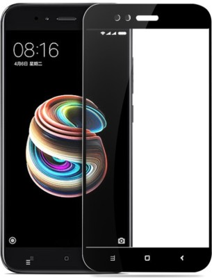 WESTERN COLLECTIONS Edge To Edge Tempered Glass for Screen Protector, Tempered Glass (Black) Designed For :- Redmi A2(Pack of 1)