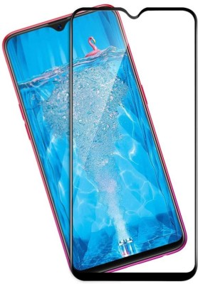 WESTERN COLLECTIONS Edge To Edge Tempered Glass for Oppo F9, OPPO F9 Pro, Realme 2 Pro, Realme U1, Realme 3 Pro(Pack of 1)