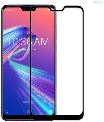 WESTERN COLLECTIONS Edge To Edge Tempered Glass for Screen Protector, Tempered Glass (Black) Designed For :- Asus Zenfone Max Pro M2 ZB631KL(Pack of 1)