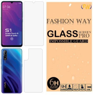 Fashion Way Front and Back Screen Guard for Vivo S1(Pack of 2)