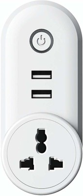 Life Like Wifi Smart Plug Socket Switch(White)