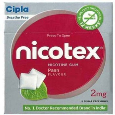 NICOTEX PAAN FLAVOUR 10 PACK SET 24 hour patch Smoking Patch(Pack of 90)