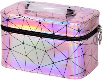 Quick Shel VANITY BOX FOR COSMETICS, MAKEUP & JEWELLERY MAKEUP , COSMETICS & JEWELLEY Vanity Box(Pink)