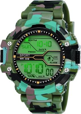 fadiso fashion FF01017- GR Digital Sports Digital Watch  - For Men