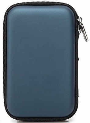 Gadget Deals Semi Hard, ShockProof, Water Proof 2.5 inch External Hard Disk Cover(For Seagate, Toshiba, WD, Sony, Transcend, Lenovo, ADATA, HP & Hitachi 2.5 inch External Hard Disks, Navy Blue)