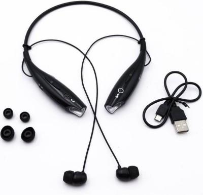NICK JONES Earphones Wired Headset with Mic Wired Headset with Mic... Bluetooth Headset with Mic(Black, In the Ear)